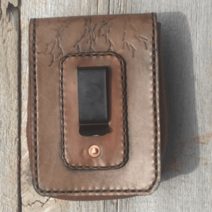Leather Tree pouch