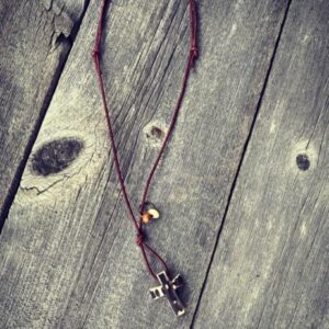 Stag Cross Necklace