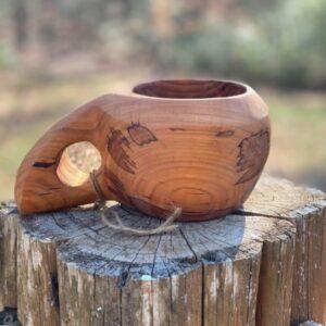Handcarved Wood Kuksa