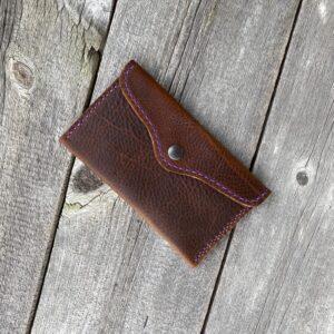 All Purpose Kodiak Leather Pouch
