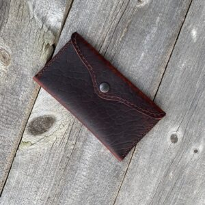 Oiled Bison All-Purpose Pouch