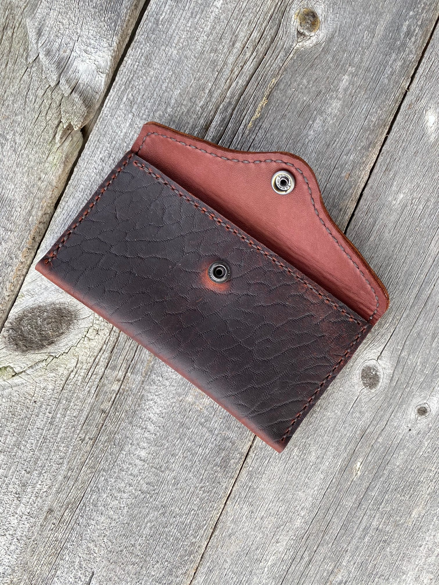 Oiled Bison Pouch
