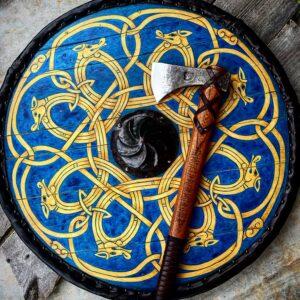 Ceremonial Viking Shield