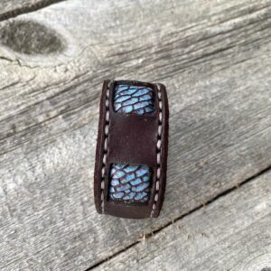 Mermaid Beavertail inlaid bracelet.
