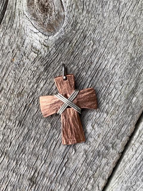 Copper Cross Small