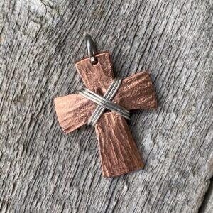 Copper Cross-Small