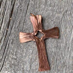 Copper Cross Large