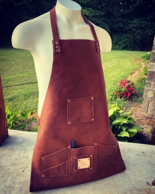 Bison Leather Apron