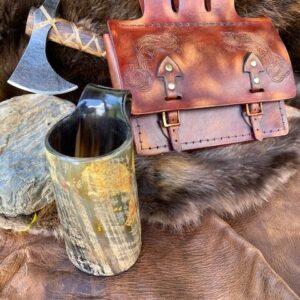 viking belt pouch